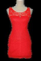 GUESS gehaakt jurkje, rood/oranje, Mt. XS