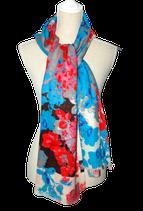 THE BLUE TURBAN woven shawl,  multicolor