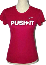 NIKE DRI FIT  PUSH IT shirt, Mt. L