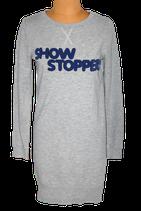 NIKKIE jurkje, sweaterdress, Show Stopper, grijs, Mt. 36