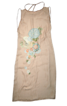 JOOP! vintage 100% zijde jurkje, jurk, beige, Mt. 34
