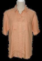 BOGNER linnen blouse, zalm-oranje, Mt. 36