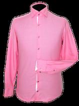 BRITISH INDIGO roze overhemd, Mt. 38