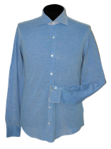 FEDELI overhemd, blauw Mt. M ( 50 )