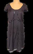 NOA NOA  jurkje, semi-transparante jurk, zwart, Mt. L