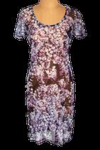 SPORTMAX licht doorschijnend jurkje, jurk, paars, Mt. 36
