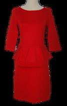 HALLHUBER jurkje, jurk, rood, Mt. XS