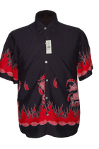 GAP retro overhemd, japanse draak , Mt. M