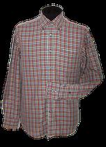 VAN LAACK geruit overhemd, multicolor, Mt. 40