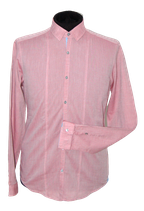 HUGO BOSS overhemd, slimfit oud roze, Mt. S