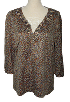 Mc.GREGOR top, topje, TWENTY ONE, taupe multicolor, Mt. 44