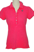 GAASTRA JULIA polo, top, pink, Mt. M
