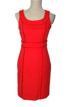 XANDRES BELGIUM jurkje, jurk, rood / roze, Mt. 38