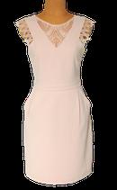 SUNCOO PARIS jurkje, COPPELIA, zacht roze, Mt. S