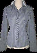 VAN LAACK getailleerde geruite blouse, Mt. 34