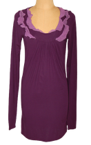 TONY COHEN jurkje, 2 Love jurk, paars, Mt. S