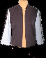 NIKKIE jasje, blazer, zwart/wit, Mt. 38