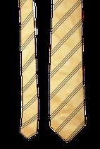 HUGO BOSS 100% zijden stropdas, geel