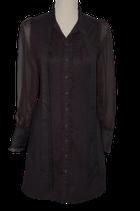 PEPE JEANS 73  blouse, zwart, Mt. XS
