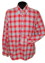GAASTRA overhemd, red checkered, Mt. L