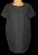 ILJA VISSER design jurk, jurkje, ready to fish, grijs, Mt. 36