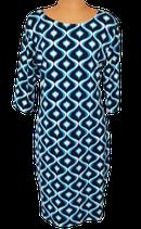 SMASHED LEMON retro jurkje, jurk,, aqua/blauw, Mt. 40