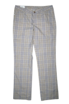 PEAK PERFORMANCE dames geruite GOLF pantalon, Mt. L
