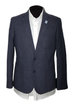7 SQUARE jasje, blazer, colbert, GPL1365 blauw, Mt. 50
