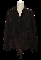 HUMAN NATURE suède jasje, jas, bruin, Mt. S