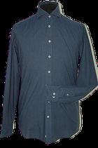JOHN MILLER overhemd blck.bl, Mt. 38