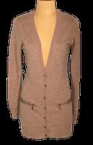ESSENTIEL ANTWERP vest, cardigan, zand/camel, Mt. L