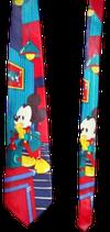 Mickey Mouse zijden stropdas Gold Bear Blauw