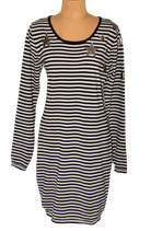 MAISON SCOTCH jurkje, jurk, zwart/wit, Mt. XL