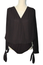 SUPERTRASH top, blouse-top, BUBBA body, zwart, Mt. 42