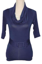 RIVER WOODS  mini-jurkje, top, blauw, Mt. XS