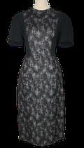 GERARD DAREL jurk, jurkje, zwart/grijs, Mt. 40