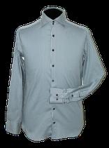 BRITISH INDIGO gestreept overhemd, Mt. 38