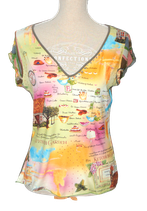 CHE COSA shirt, top, multicolor, Mt. L