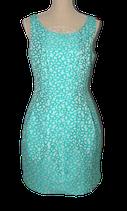 ARGGIDO  aqua - groen retro jurkje, Mt. 40 (42)