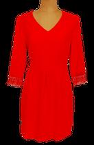 SUNCOO PARIS jurkje, jurk, CORELIE, oranje/rood, Mt. M