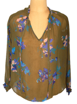 FRENCH CONNECTION blouse groen, Mt. S