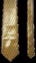 VERSACE zijden stropdas, rectangles