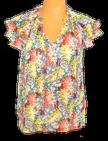 SUNCOO PARIS , blouse-top flowers, Mt. S
