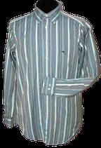 ETRO overhemd, strpd  green, Mt. 40