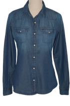 ANTI BLUE jeans blouse, Mt. S