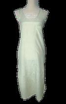 COS jurk, zijde-mix jurkje, groen-blauw/beige, Mt. XS