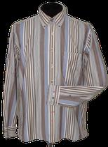 PAUL STUART gestreept overhemd. shirt, Mt. L