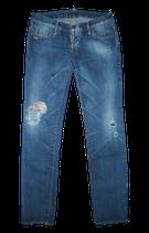 DSQUARED2 100% org. spijkerbroek, vintage jeans, Mt. 38 / 44