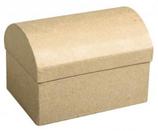 Pappmaché Box Truhe klein