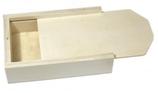 Holz Box mit Schiebedeckel